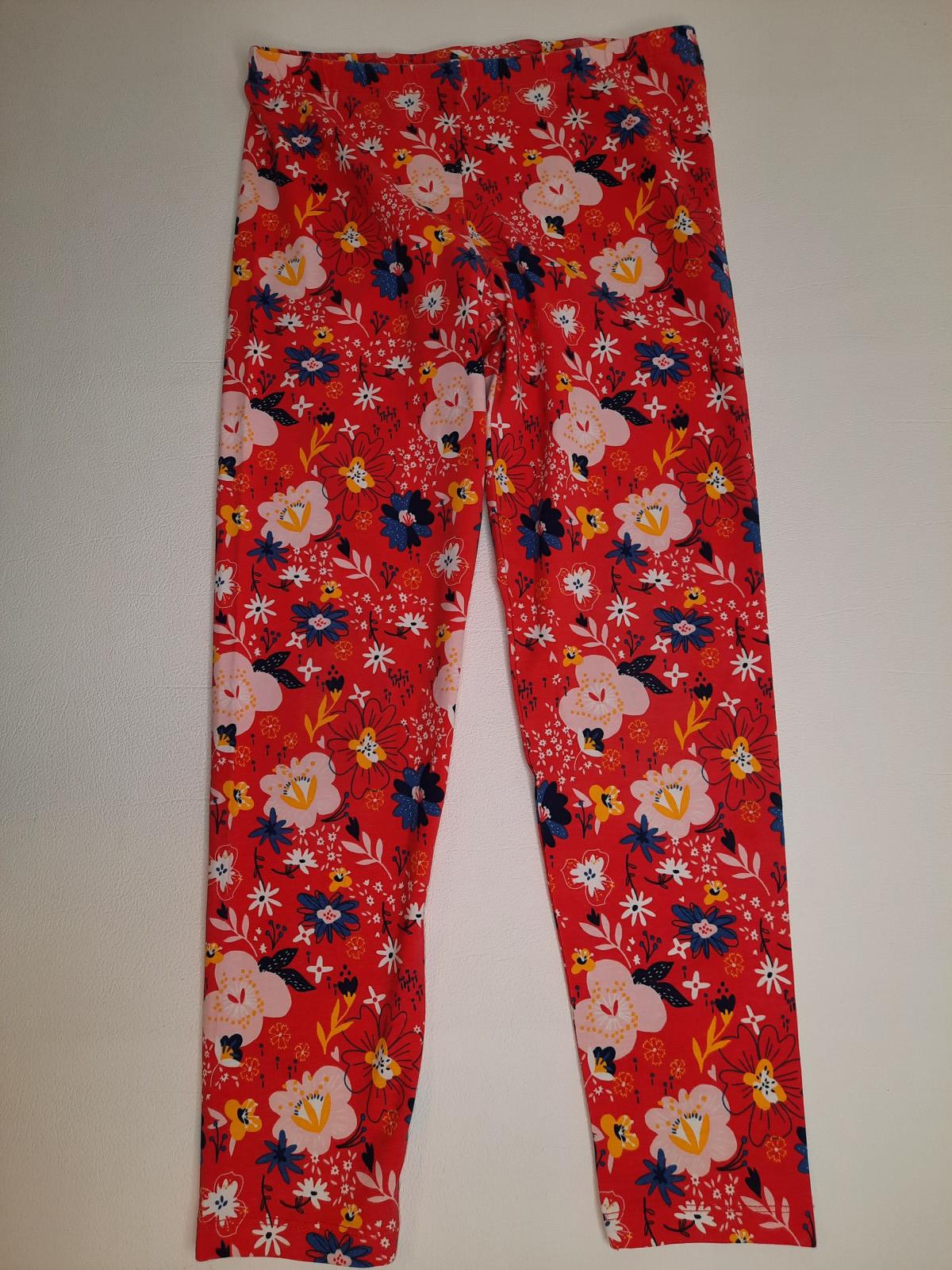 Legging rouge fleuri - photo 6