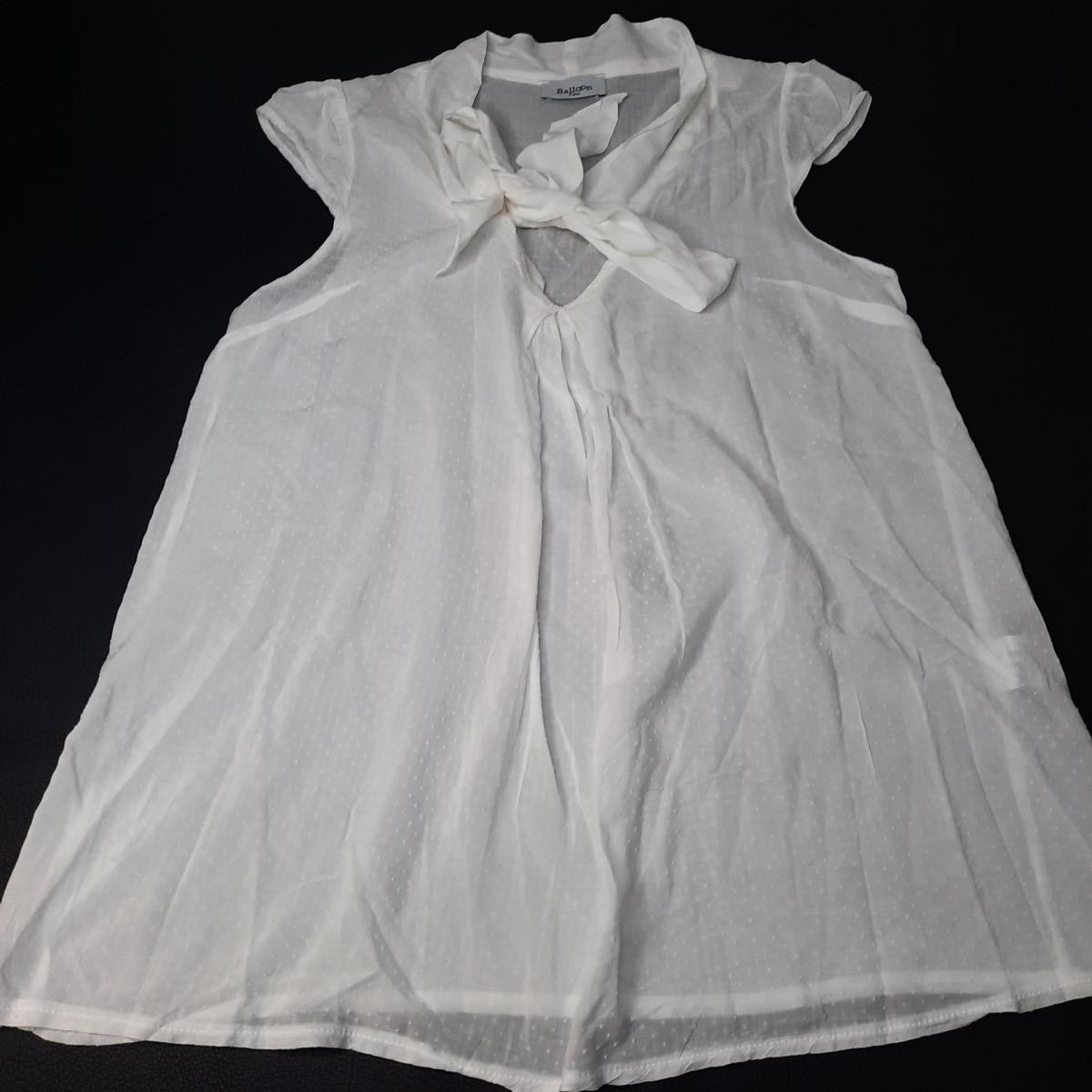 Blouse blanc Taille 38 - photo 6