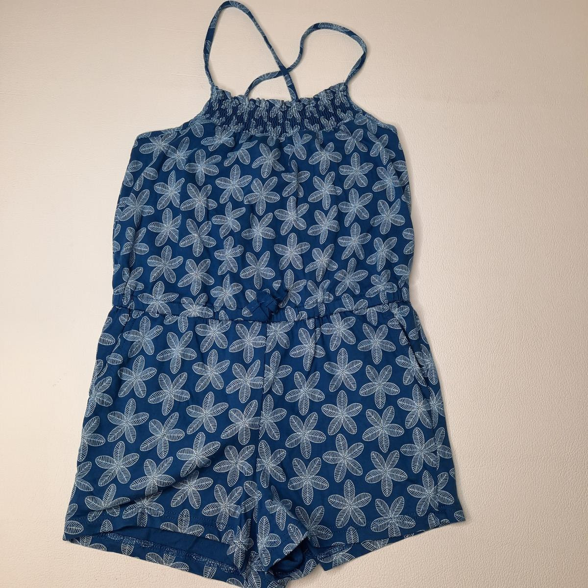 Combi short bleu à motif - photo 6