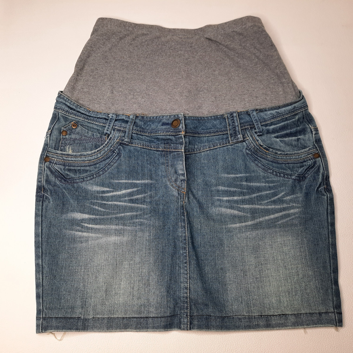 Jupe en jeans Taille 38/40 - photo 6