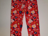 Legging rouge fleuri - photo 7